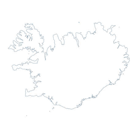 Argentina Map - Vector Contour. Illustration