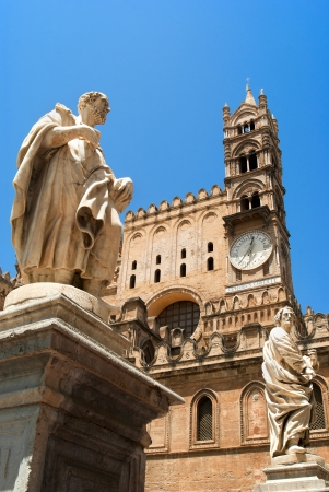cattedrale: Palermo Cathedral Cattedrale di Vergine Assunta  is the cathedral church of the Roman Catholic Archdiocese of Palermo, located in Sicily, southern Italy  As an architectural complex, it is characterized by the presence of different styles, due to a long h