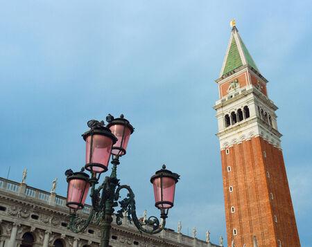 st  mark's square: The Campanile in St. Marks Square Venice. Italy