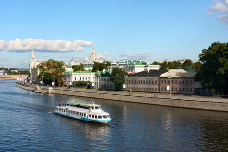 River boat bus in Moscow