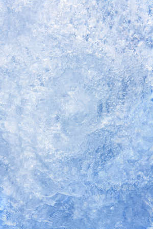 Full frame ice background, frozen water, blue Stock Photo - 12620143