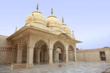 marble palace: White marble palace, Agra fort, India