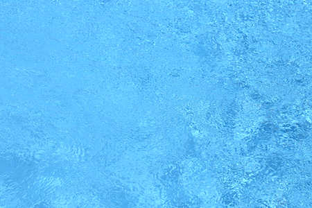 rippling: Rippling water in a pool. Bright blue water background