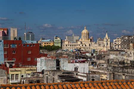 View to Havana Stock Photo