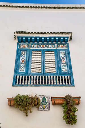 Window of a traditional tunisian house