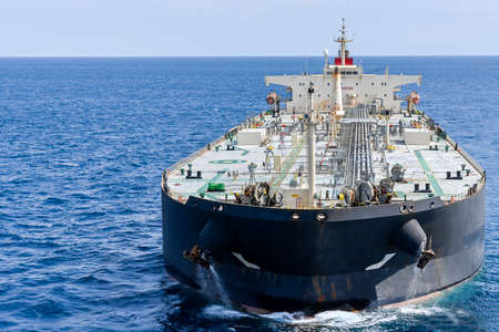 The tanker in the high sea Standard-Bild