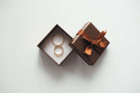 engaging: an image of engaging rings in a box