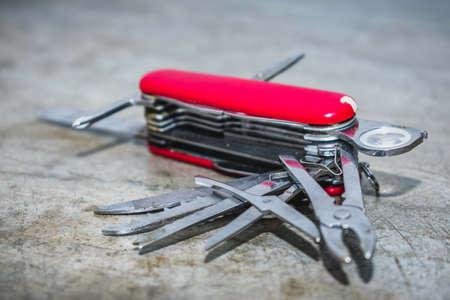 model kit: swiss knife