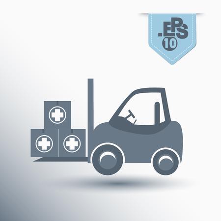 loader: medicines loader Illustration