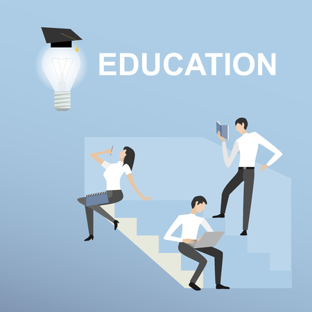 receive: students receive education online training