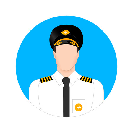 the pilot in the form of icons