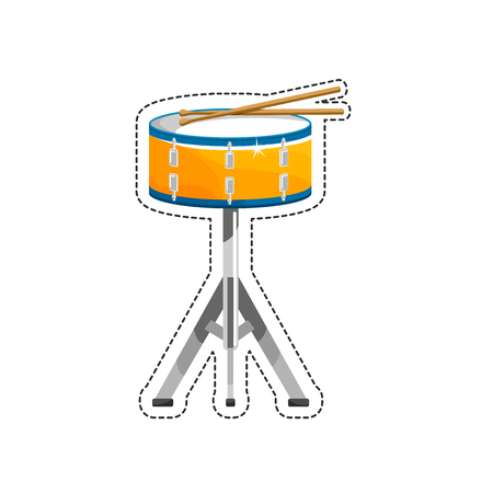 The drum is a member of the percussion group of musical instruments
