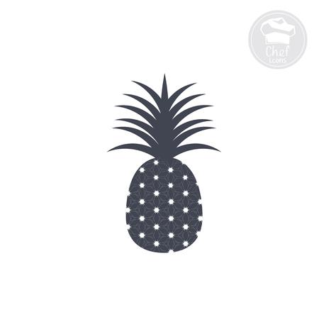 vector illustration pineapple Illustration