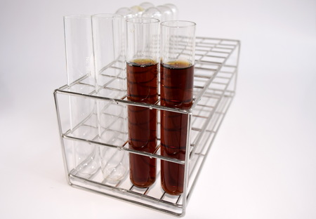 reagent: Reagent in test tube