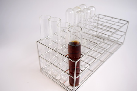 stinks: Reagent in test tube