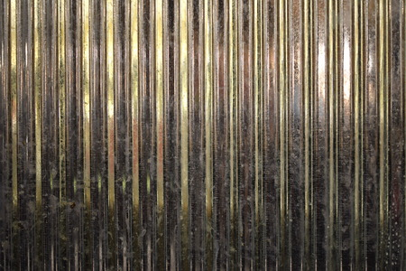 metal sheet: Corrugated Metal Sheet Stock Photo