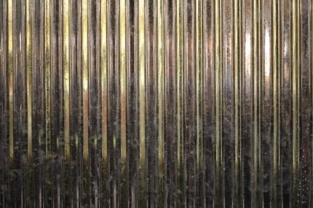 corrugated metal: Corrugated Metal Sheet Stock Photo