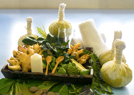 Thai Herbal Compress Technique Healing Spa from Thailand