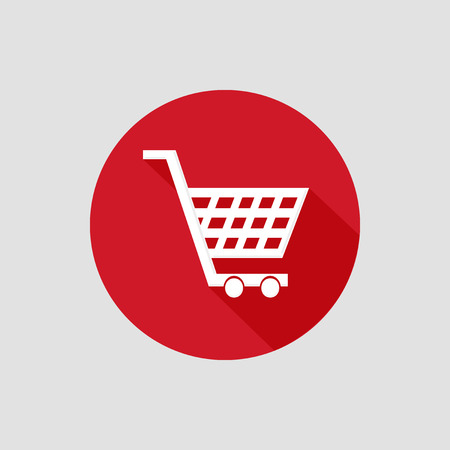 shopping cart: shopping cart icon vector design Illustration
