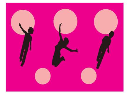 gansta: FUNNY silhouette