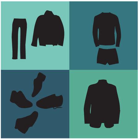 Menswear silhouettes