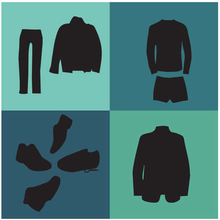 siloette:   Menswear silhouettes