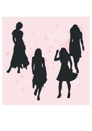 gansta: feminine silhouette career