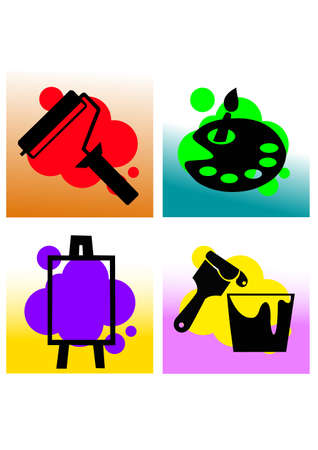 silhouette drawing tools