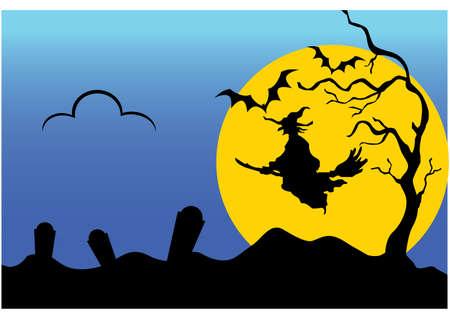 gansta: witch silhouette