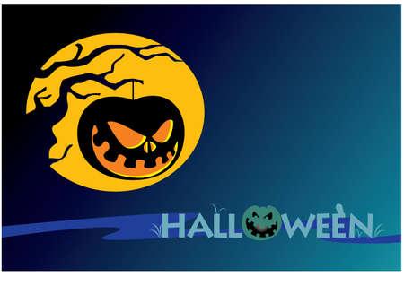 Halloween  silhouette Illustration