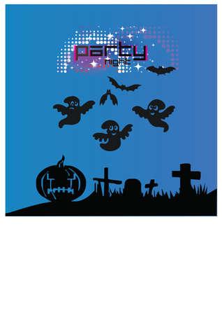 ghost silhouette Illustration
