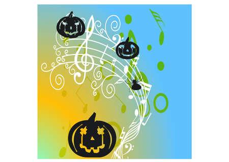 gansta: happy scary silhouette Illustration