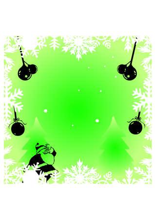 gansta:  ornament silhouette