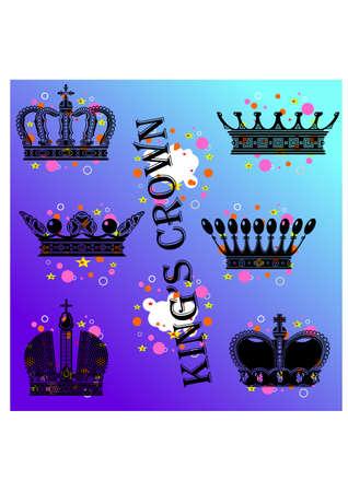 crown silhouette: re corona silhouette