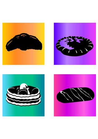 siloette: silhouette tasteful bread