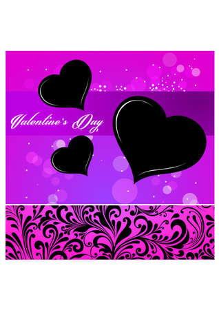 love card pattern silhouette