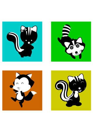 silhouette animal funny Illustration