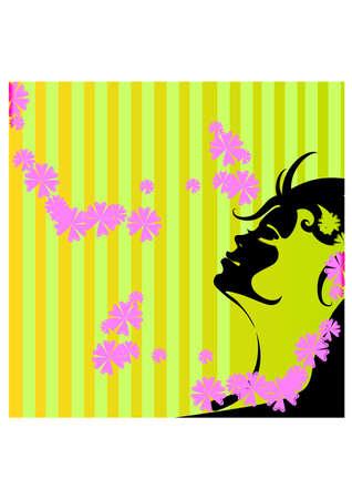 flowrist of women silhouette