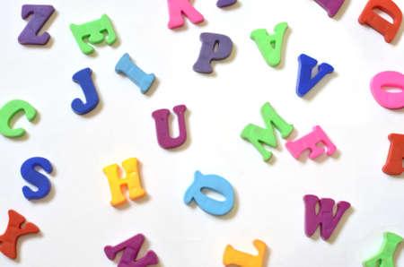color alphabet ABC Banque d'images