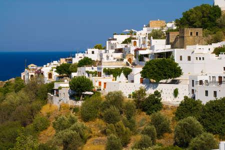Greek town Lindos