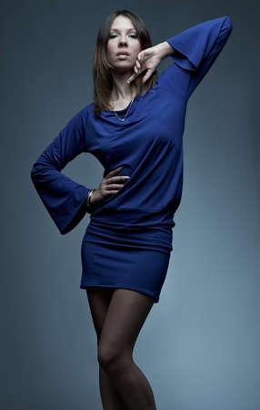 Fashion shot of sensual young woman Stock Photo - 8914055