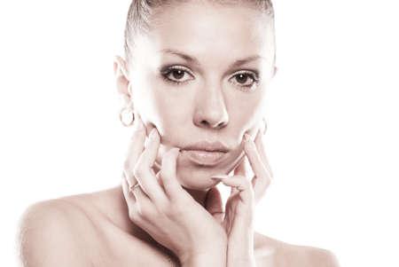 Young beautiful Caucasian blond woman Stock Photo - 8914066