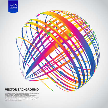 abstracta: Fondo de vectores abstractos