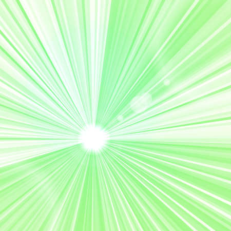Abstract green beams background