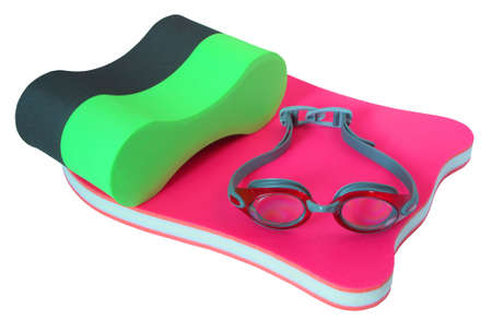 流域における水泳トレーニングに必要な装置 写真素材