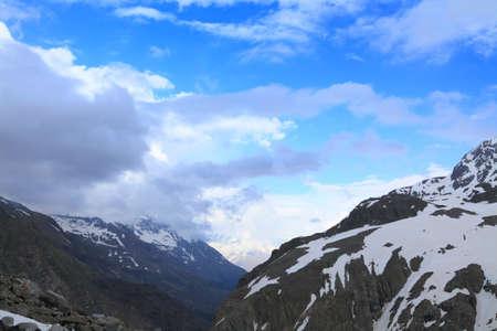 begining: visualizzazione di inizio della odierna valle, Caucaso Archivio Fotografico