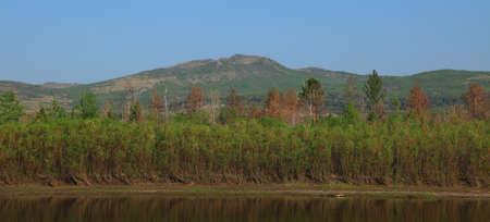 ヤブロノイ山脈とインゴダ川のパ...