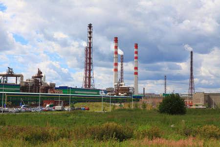 amoniaco: fábrica de productos químicos, que producen fertilizantes de fósforo y nitrógeno