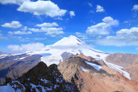 mount elbrus. view from the east