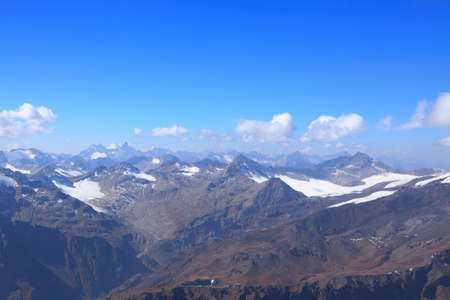 view of the main caucasus ridge